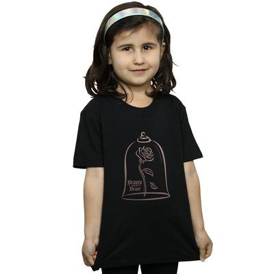 disney princess girls princess rose gold t-shirt