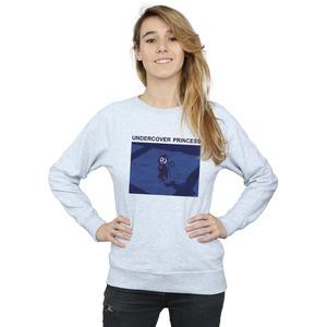 disney women's aladdin undercover princess sweatshirt