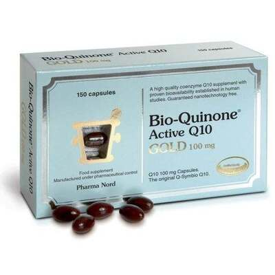 Pharma Nord Bio-Quinone Q10 Gold 100mg 150 Capsules