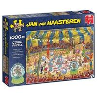 Image of Jumbo 19089 Jan Van Haasteren - Acrobat Circus 1000 Piece Jigsaw Puzzle