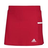 Image of Adidas T19 Womens Skort Red/White #XS