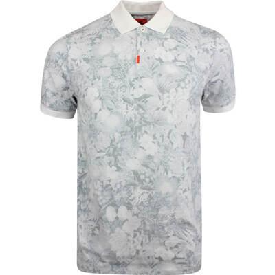 Nike Golf Shirt The Nike Polo Floral Slim Neutral SS19