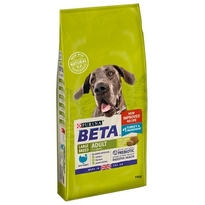 Purina Beta Large Breed Adult Turkey Dog Food