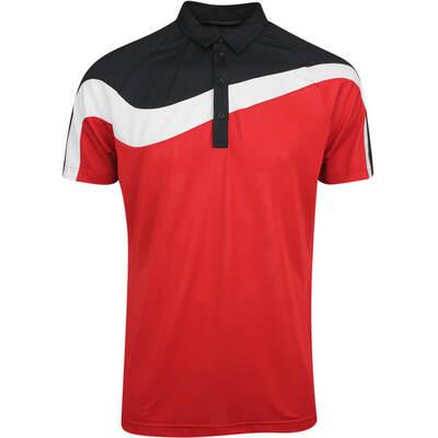 Galvin Green Golf Shirt Magnum Red AW19