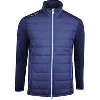 RLX Golf Jacket - Quilted Coolwool - French Navy - Royal Blue AW19
