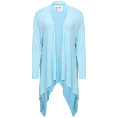 A POSTCARD FROM BRIGHTON FABLE WATERFALL CARDIGAN - SKY - S/M