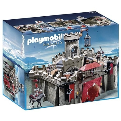 Playmobil Knights Hawk Castle With Dungeon