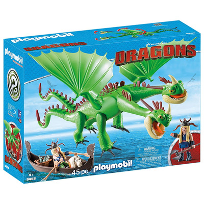 Playmobil DreamWorks Dragons Ruffnut And Tuffnut With Barf And Belch