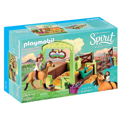 Playmobil DreamWorks Spirit Horse Box Lucky & Spirit