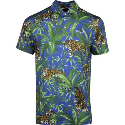 RLX Golf Shirt Printed Airflow Jaguar Hawaiian SS20