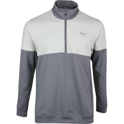 PUMA Golf Pullover Warm Up QZ Quiet Shade SS20