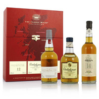 Classic Malts Collection Glenkinchie Dalwhinnie Oban 3x20cl