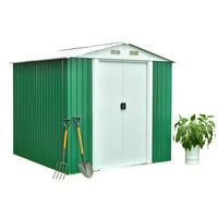 Feider Premium Metal Garden Legacy Apex Shed  2 m² - Double side...