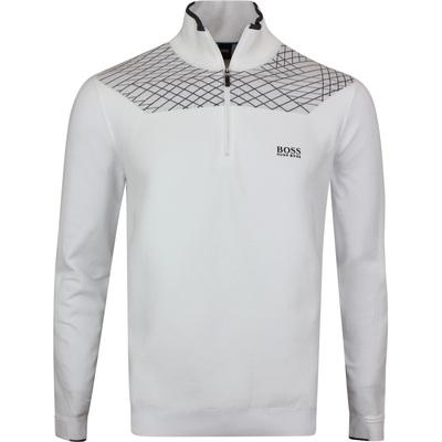 BOSS Golf Jumper Zaden Training White PF20