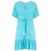 Betty Dress - Tulum Aqua