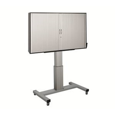 Clevertouch Trolley Lift with lockable doors