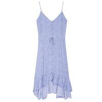 Frida Dress - Sky Blue Daisies