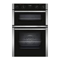 Neff U1ACE5HN0B Electric Double Oven, Stainless Steel