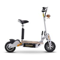 Image of Chaos 48v 1600w Hub Drive Off Road White Adult Electric Scooter