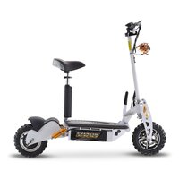 Image of Chaos 48v 1000w Hub Drive Off Road White Adult Electric Scooter