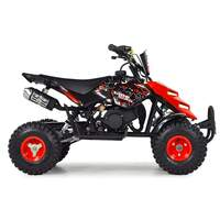 Image of FunBikes 49cc Red Kids Mini Quad Bike