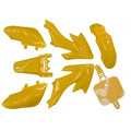 Pit Bike Plastics Set - CRF 50 - Yellow