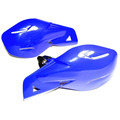 Pit Bike Handlebar Brush Guards - Blue - Throttles / Twistgrips / Controls