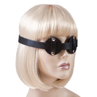 Leather Adjustable Eye Blindfold