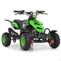 Image of FunBikes 49cc Green Kids Mini Quad Bike