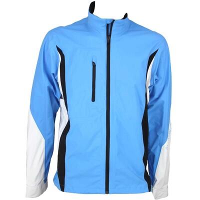 Galvin Green Aron Waterproof Golf Jacket Summer Sky White