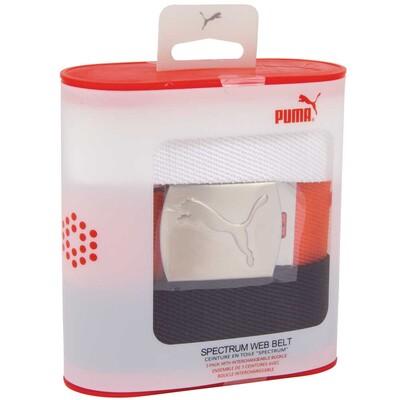 Puma Junior Spectrum 3 in 1 Belt Pack White Orange Black AW15