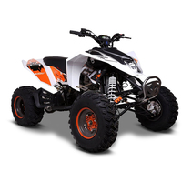 Image of EGL Madmax 250cc White Sports Adults Quad Bike