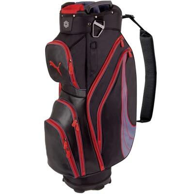 Puma Formstripe Golf Cart Bag Black Red AW15