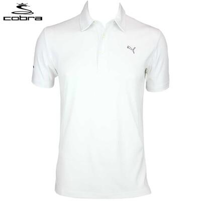 Puma Cobra Tour Tech Golf Shirt White AW15