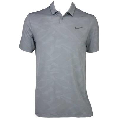 Nike Modern Mobility Camo Jacquard Golf Shirt Dark Grey AW15