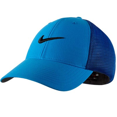 Nike Tour Legacy Mesh Golf Cap Photo Blue AW15