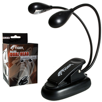 Image of Tiger Music Stand Light with Dual Head & 2x Quality LED lights