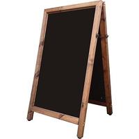 Image of Hurricane A-Board Chalk board large antique pine frame