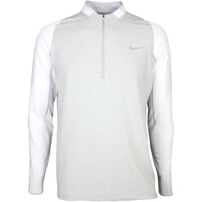 Nike Golf Pullover Engineered Half Zip White SS16