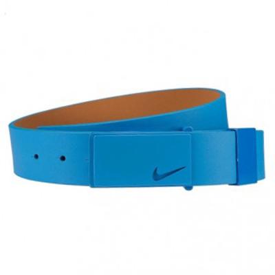 Nike Golf Belt Sleek Modern Tonal Plaque Photo Blue SS16