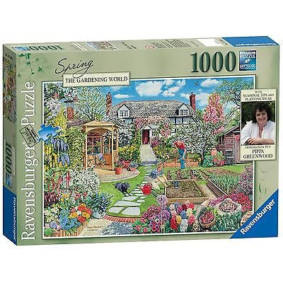 Ravensburger Gardening World Spring, 1000pc Jigsaw Puzzle