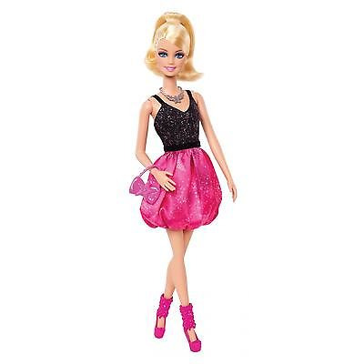 Barbie Fashionistas Party Glam Doll Barbie Black/pink Dress