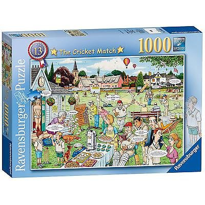 Ravensburger Best Of British No.13   The Cricket Match, 1000pc Jigsaw Puzzle