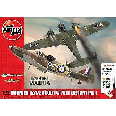 Airfix A50170 Boulton Paul Defiant Mk.1 Dornier Dogfight Doubles Gift Set