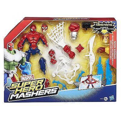 Marvel Avengers Hero Mashers Spiderman Action Figure