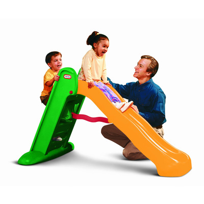 Little Tikes Easy Store Large Slide (Green / Orange)