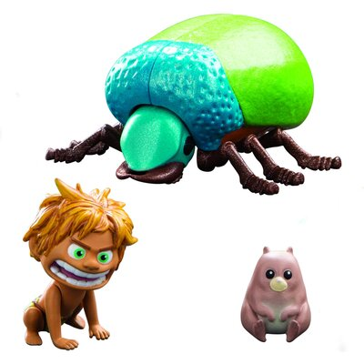 Disney The Good Dinosaur Spot And Beetle Action Figures