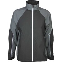 Galvin Green Waterproof Golf Jacket - AMOS Iron Grey - Black