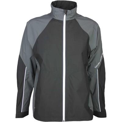 Galvin Green Waterproof Golf Jacket AMOS Iron Grey Black