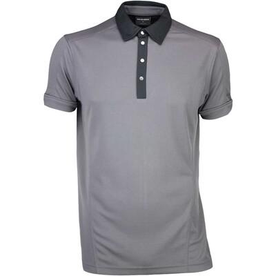 Galvin Green Golf Shirt MAJOR Iron Grey SS16